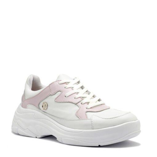 Zapatillas blancas y rosa RALLYS