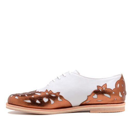 Zapatos bajos blancos mujer RALLYS