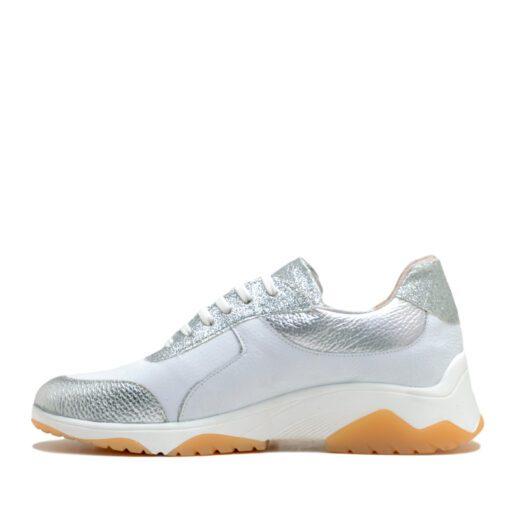 Zapatillas blancas con glitter para Muer