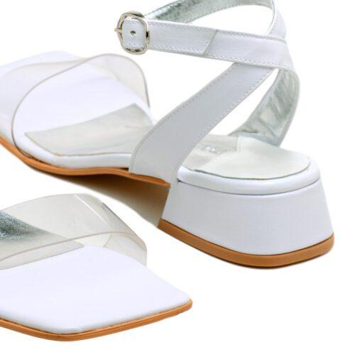 Sandalias bajas blancas con pulsera RALLYS