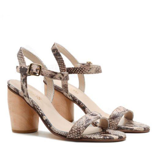 Sandalias beige mujer RALLYS