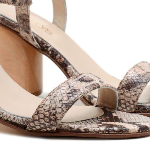 Sandalias altas beige RALLYS