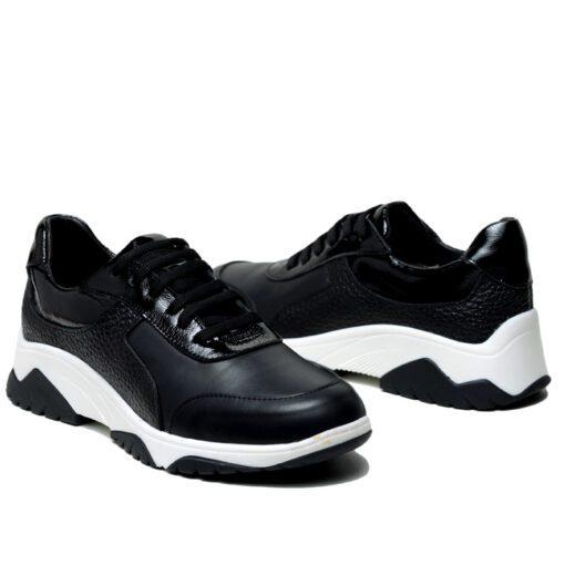 Zapatillas mujer en negro RALLYS