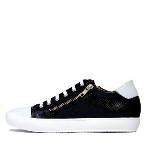 Zapatillas negras con cierres RALLYS
