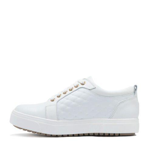 Zapatillas blancas para Mujer en matelasse RALLYS