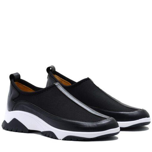 Zapatillas elastizadas negras RALLYS