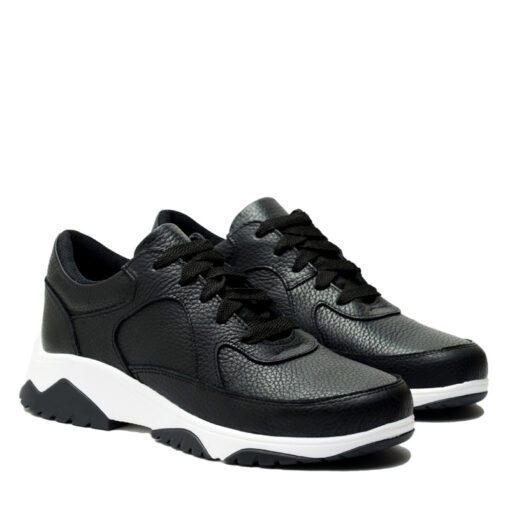Zapatillas negras con cordones RALLYS