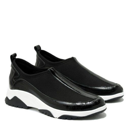 Zapatillas elastizadas charol RALLYS