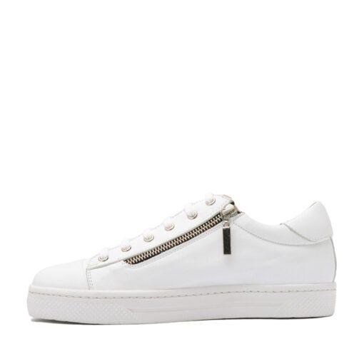 Zapatillas de cuero blanco RALLYS