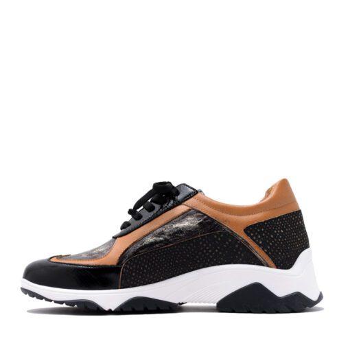 Zapatillas combinadas suela y negro RALLYS