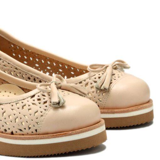 Zapatos con plataforma calados RALLYS