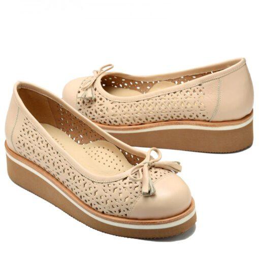 Zapatos nude calados RALLYS