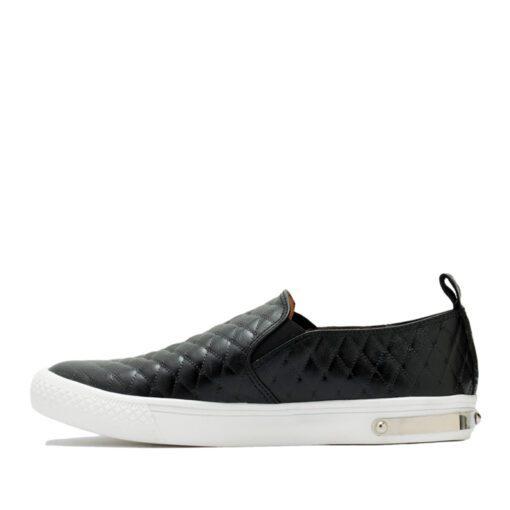 Zapatos matelasse negros RALLYS