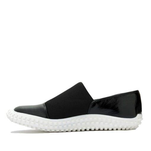 Zapatos sport charol negro RALLYS